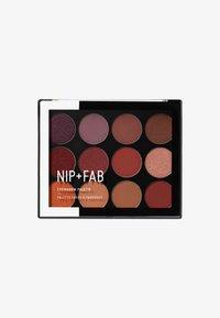 Nip+Fab - Eyeshadow Palette  - Ögonskuggepalett - fired up - 0