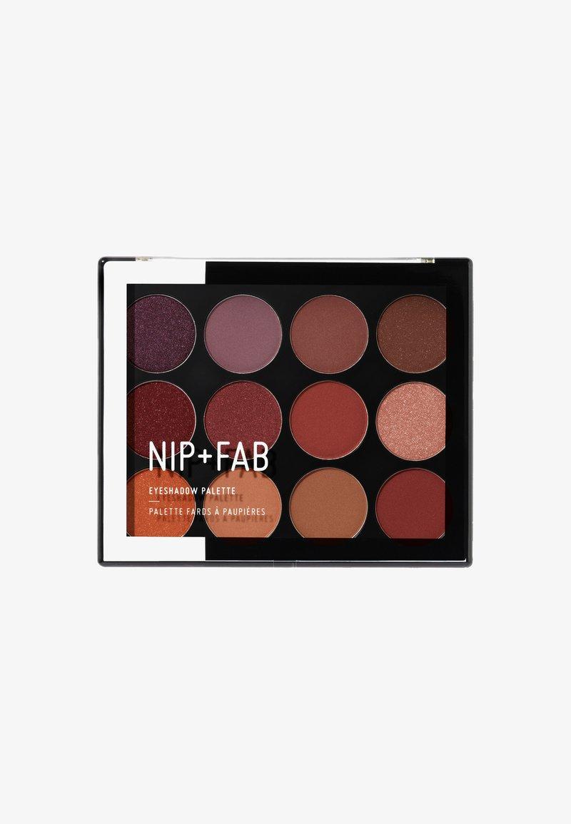 Nip+Fab - Eyeshadow Palette  - Ögonskuggepalett - fired up