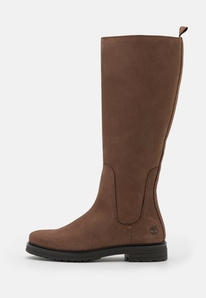 HANNOVER HILL TALL BOOT - Saappaat - dark brown