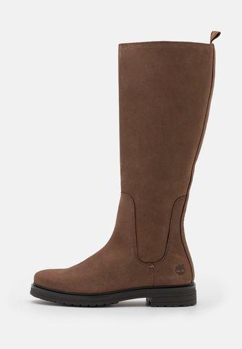 HANNOVER HILL TALL BOOT - Stivali alti - dark brown