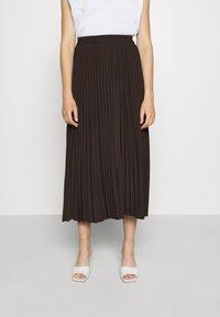 Selected Femme - SLFALEXIS SKIRT - A-line skirt - coffee bean - 0