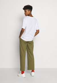 Monki - TOVI TEE - Print T-shirt - white - 2