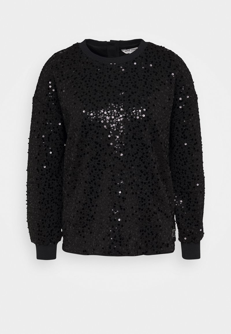 NAF NAF - OCHAN - Sweatshirt - noir