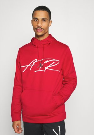 AIR THERMA - Hoodie - gym red/black