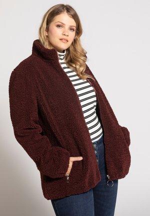 Fleece jacket - rouille