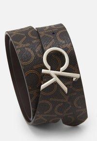 Calvin Klein - LOGO BELT MONO - Belt - brown - 2