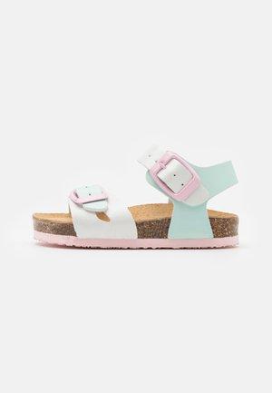 Sandals - bianco/acqua