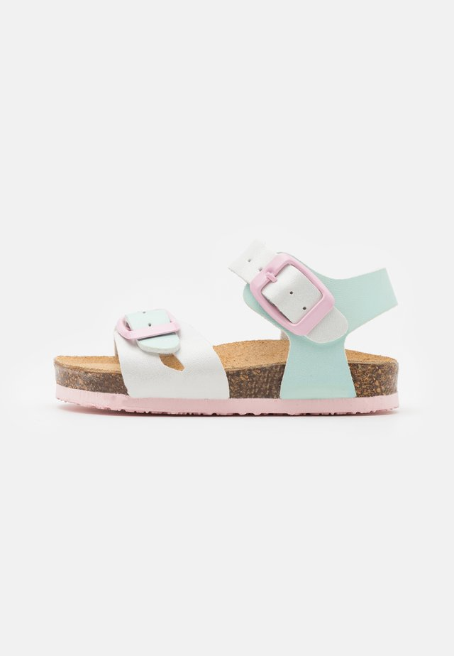 Sandaler - bianco/acqua