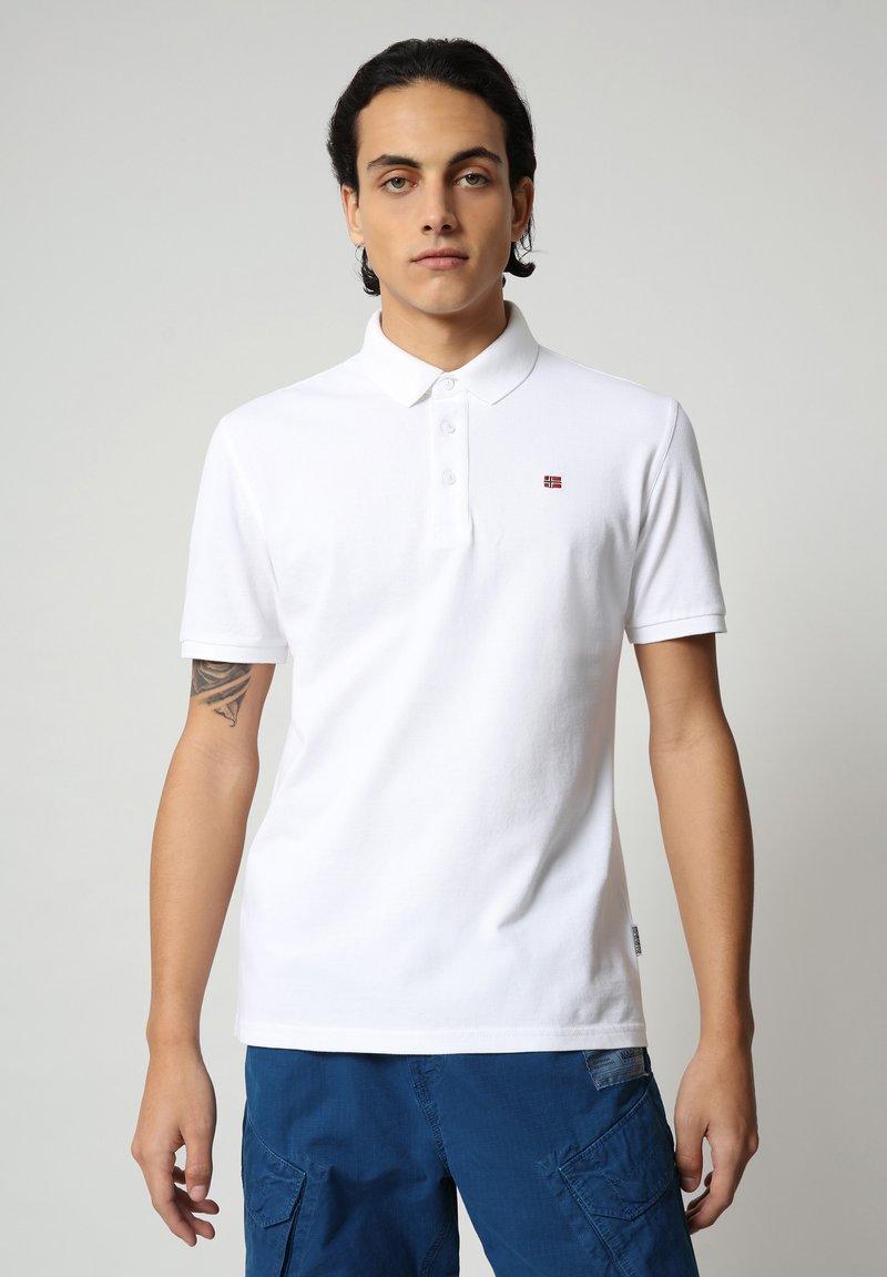 Napapijri - EOLANOS - Polo shirt - bright white