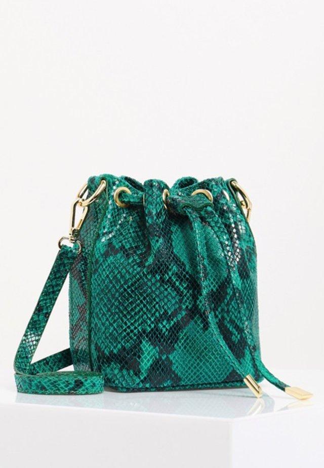 Schoudertas - turquoise