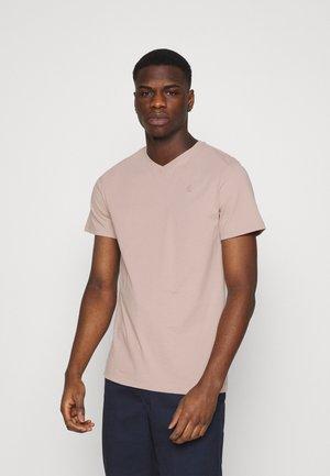 BASE-S V T S\S - Basic T-shirt - light pink