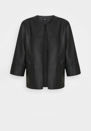 NADJA - Faux leather jacket - black
