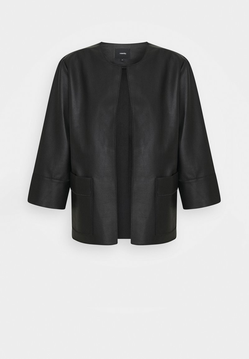 someday. - NADJA - Faux leather jacket - black
