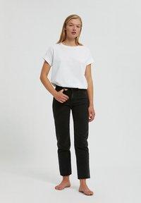 ARMEDANGELS - Straight leg jeans - black-grey - 5