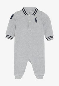 Polo Ralph Lauren - BASIC COVERAL BABY - Jumpsuit - andover grey heather - 3