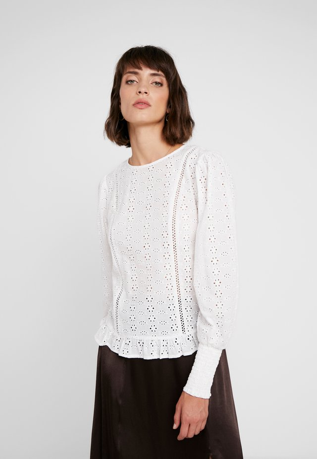 EMBRY BLOUSE - Blouse - chalk