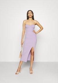 Gina Tricot - PIA DRESS - Pletené šaty - orchid bloom - 1