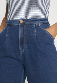 ONLY - ONLLIVA SLOUCHY - Jeans relaxed fit - dark blue denim - 3