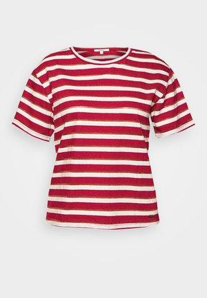 CAMILE - Print T-shirt - tibetan red