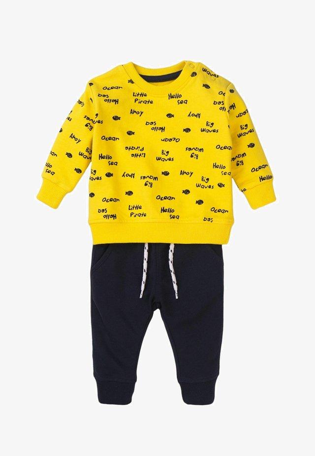 Trainingspak - dark yellow