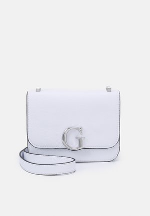 HANDBAG CORILY CONVERTIBLE XBODY FLAP - Across body bag - white