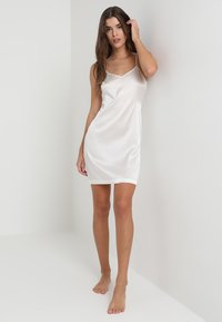 La Perla - REWARD SHORT SLIP DRESS - Nightie - off-white - 1