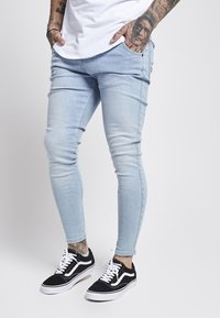 SIKSILK - Skinny džíny - light blue - 1