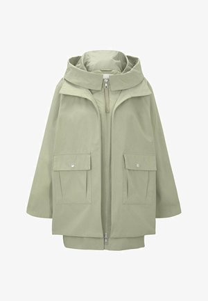 TECHNICAL - Parka - light olive