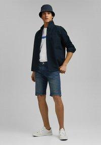 edc by Esprit - Szorty jeansowe - blue dark washed - 1