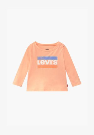 GRAPHIC - Long sleeved top - peach nectar