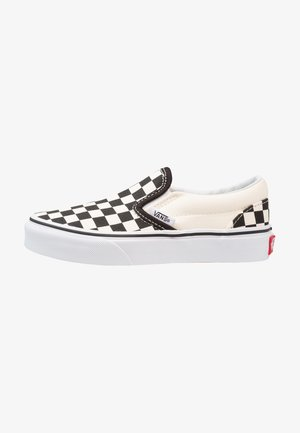 CLASSIC - Loaferit/pistokkaat - black/white