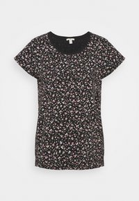edc by Esprit - COO CORE - Print T-shirt - black - 3