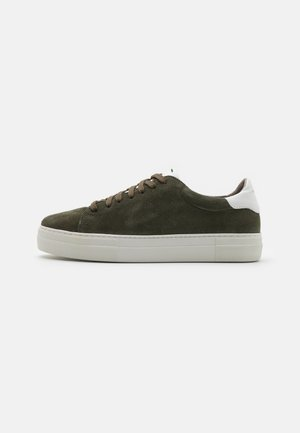 SLAMMER EXCLUSIVE - Sneakers laag - military/white