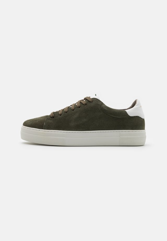 SLAMMER EXCLUSIVE - Sneakers basse - military/white
