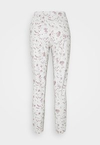 Women Secret - LONG SLEEVES LONG PANT SET - Pyjama - ox blood - 4