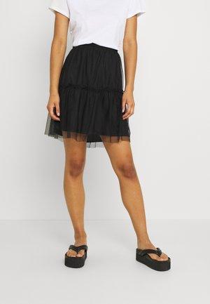 VIVERANDAHW SKIRT - A-line skirt - black