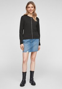 QS by s.Oliver - Cardigan - black - 1