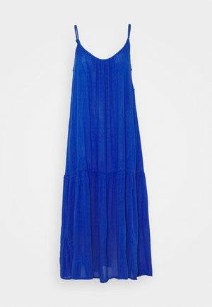 SLIP MIDI - Maxi dress - blue