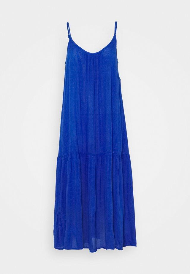 SLIP MIDI - Maxi šaty - blue