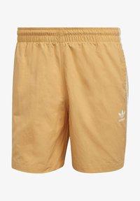 adidas Originals - ADICOLOR CLASSICS 3-STRIPES SWIM SHORTS - Shorts da mare - orange - 5