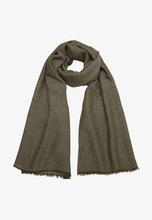 SJAAL - Scarf - khaki stripes