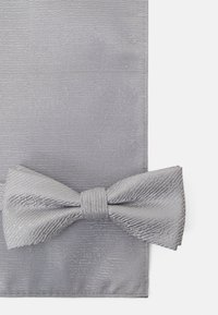 Only & Sons - ONSTOBIAS PATTERN BOWTIE SET - Bow tie - quiet grey - 6