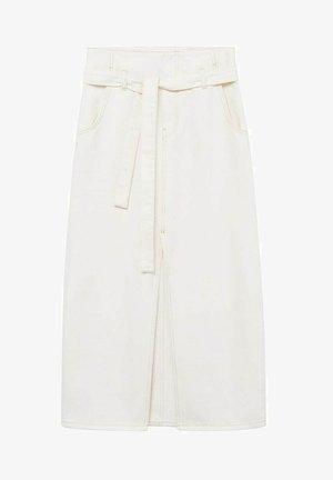 LIVE - A-line skirt - écru