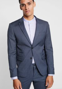 Lindbergh - CHECKED SUIT - Oblek - blue