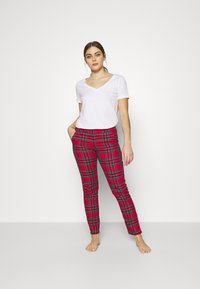 Etam - ODILE PANTALON - Pyjama bottoms - rouge - 1