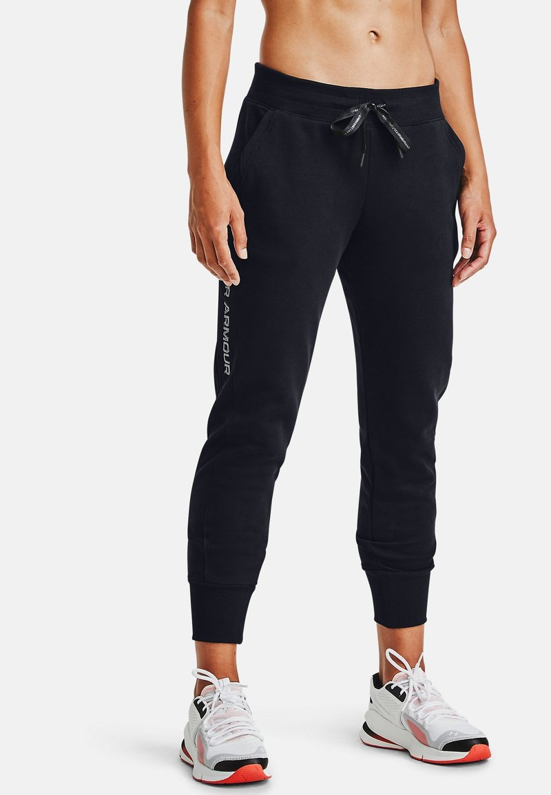 Under Armour - EMB - Tracksuit bottoms - black