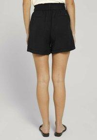 TOM TAILOR DENIM - Shorts - deep black - 2