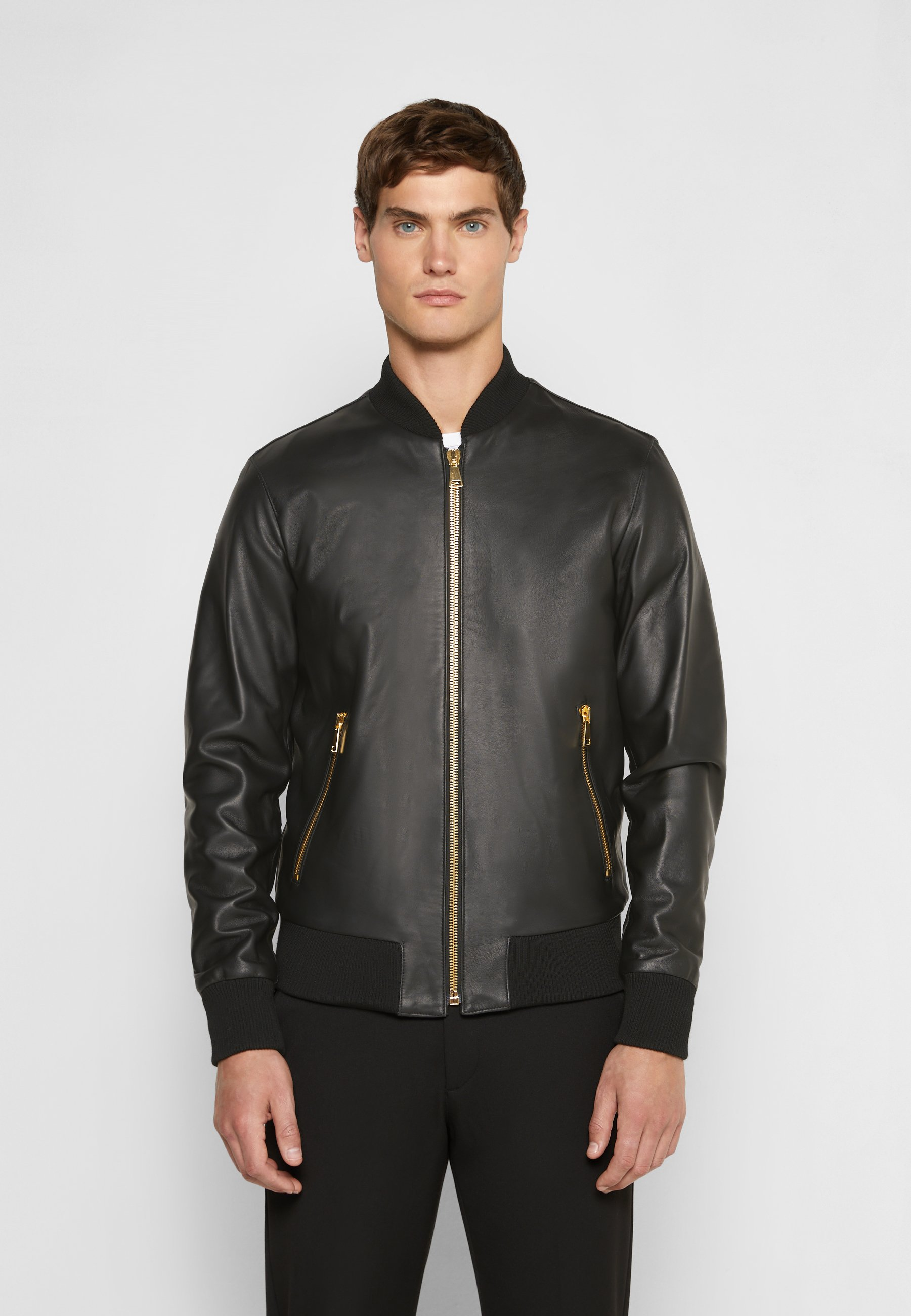 Men LEATHER - Leather jacket