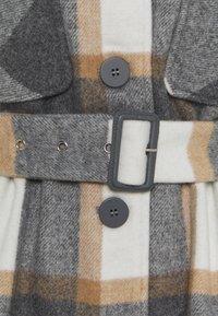 Pieces - PCSELMA OVERSHIRT JACKET - Summer jacket - white/grey/natural - 2