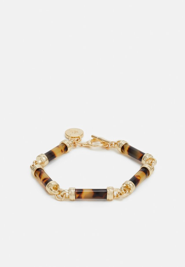 BARREL FLEX - Bracelet - gold/tort